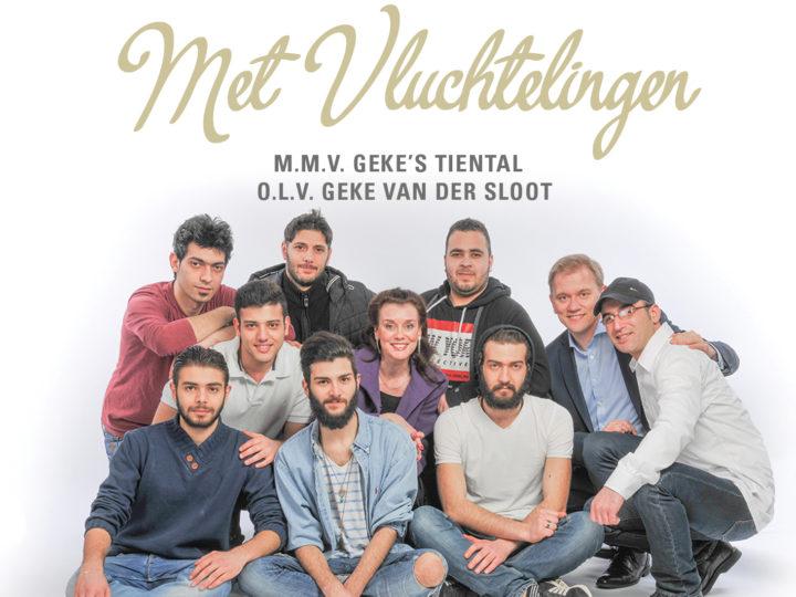 Zingen in Wintersferen met Geke's Tiental en vluchtelingen