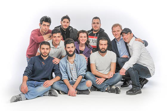 Geke's Tiental & Vluchtelingenband Nederland