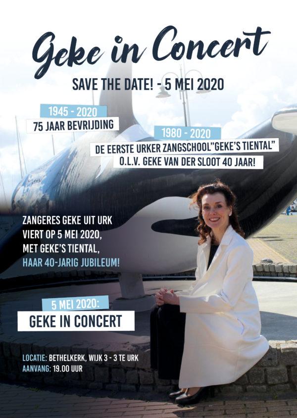 Geke`s Tiental 5 mei 2020 40 jaar!