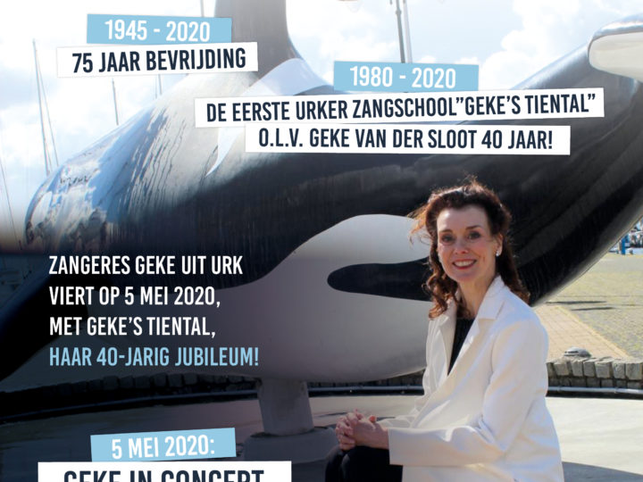 Save the date!  – 5 mei 2020 jubileumconcert