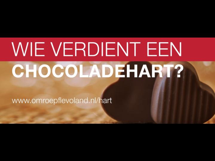 Chocoladehart voor Geke