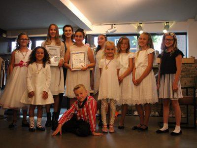 Diploma-uitreiking bij Geke`s Tiental