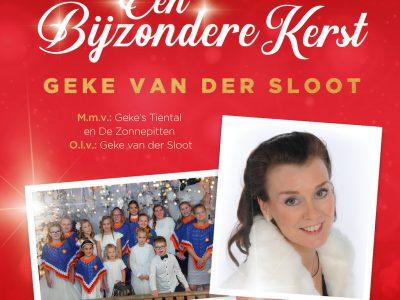 Geke van der Sloot  presenteert 21 november aanstaande haar nieuw Kerstalbum